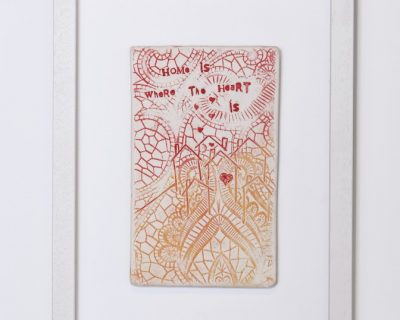 Home is where the heart is – Framed tile