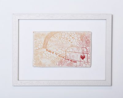 There's no place like home – Framed tile