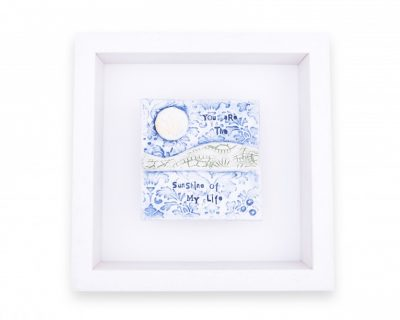 """Love Song """"You are the sunshine of my life"""" Small Frame"""