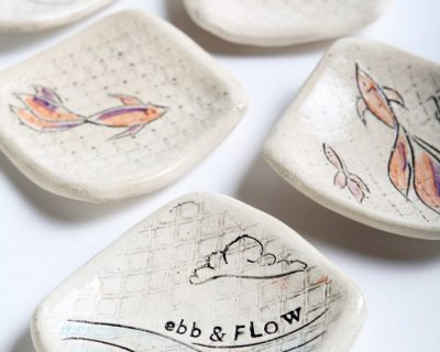 Into the Sea Ebb and Flow Trinket Dish