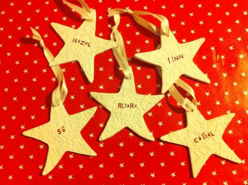 christmas tree stars for your little stars sarah mckenna ceramics - Christmas Tree Stars