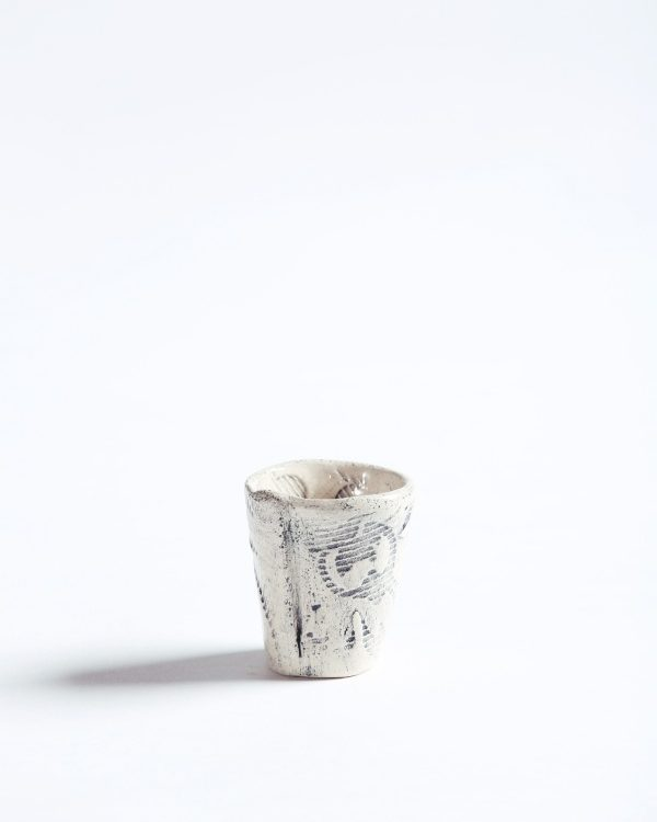 Handmade Pottery Shot Glass